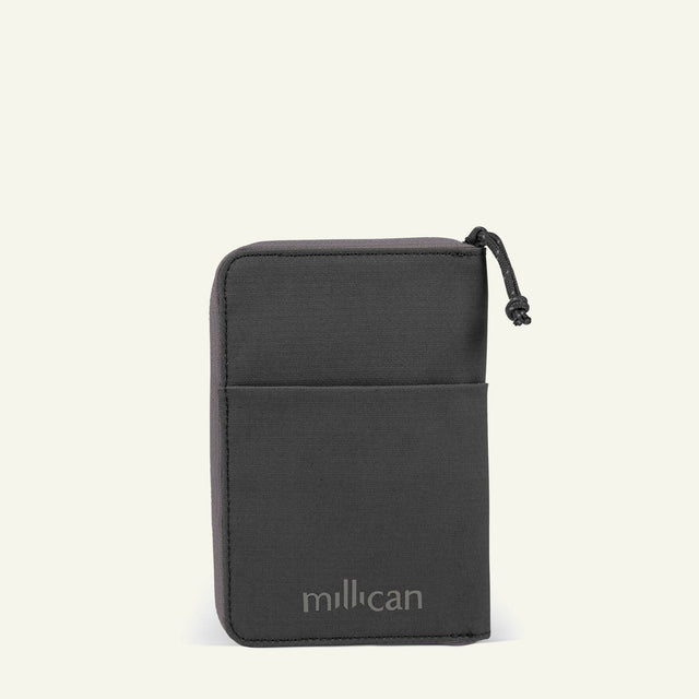The Mavericks | Powell | The Travel Wallet (Graphite Grey) available from Millican