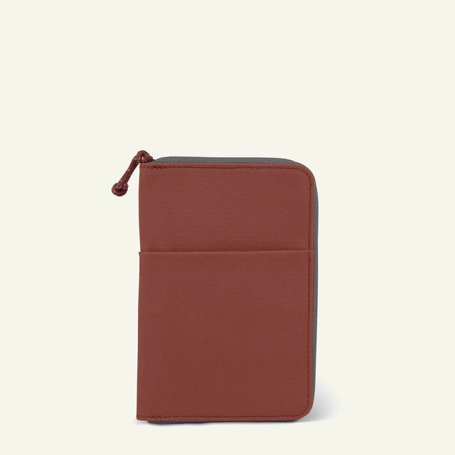 The Mavericks | Powell | The Travel Wallet (Rust) available from Millican