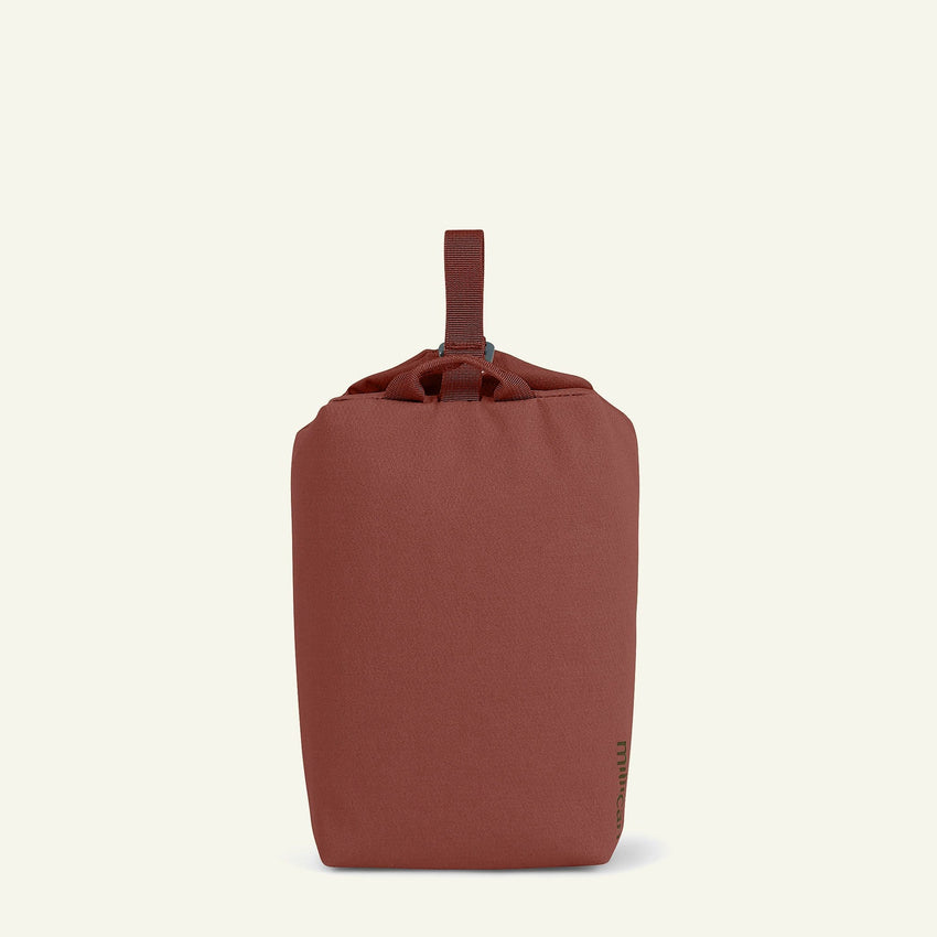 The Mavericks | Miles | The Wash Bag 4L (Rust) available from Millican