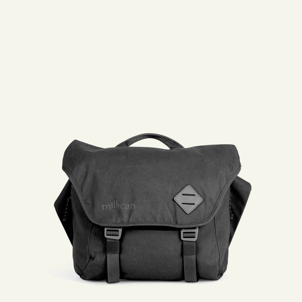 The Mavericks | Nick | The Messenger Bag 13L (Graphite Grey) available from Millican