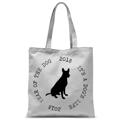 2018 - Year of the Dog - Tote Bag 2018 - Year of the Dog - Tote Bag Tote Bags Default Title
