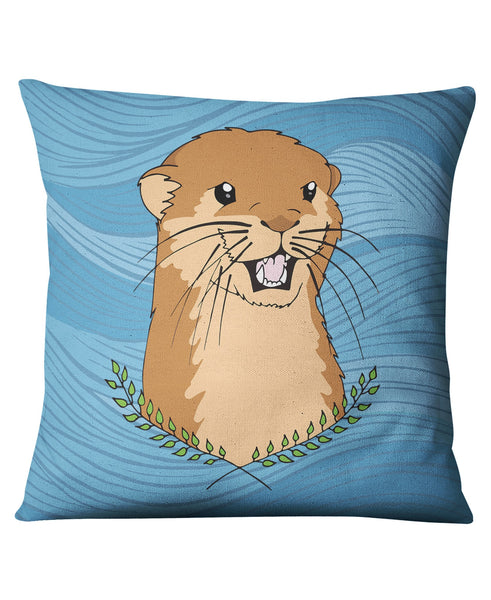 Otter Of The Day Cushion - The Wild Lifestyle - 1