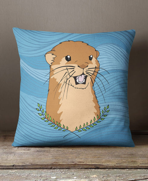 Otter Of The Day Cushion
