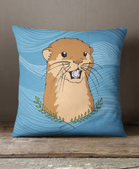 Otter Of The Day Cushion - The Wild Lifestyle - 2