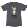 Adopt Don't Shop - T-Shirt Adopt Don't Shop - T-Shirt T-Shirts S / Charcoal