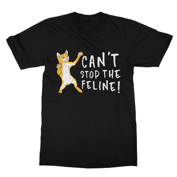 Can't Stop The Feline - T-Shirt Can't Stop The Feline - T-Shirt T-Shirts S / Black