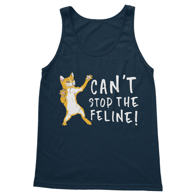 Can't Stop The Feline - Tank Top Can't Stop The Feline - Tank Top Tank Top S / Navy