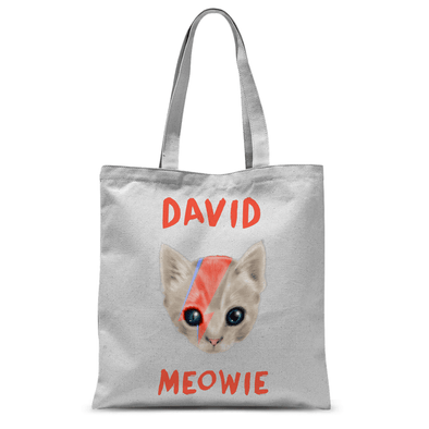 David Meowie NEW David Meowie - Tote Bag David Meowie NEW David Meowie - Tote Bag Tote Bags Default Title