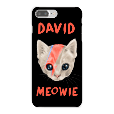 David Meowie Phone Case David Meowie Phone Case Phone Cases iPhone 7 Plus / Snap Case / Gloss