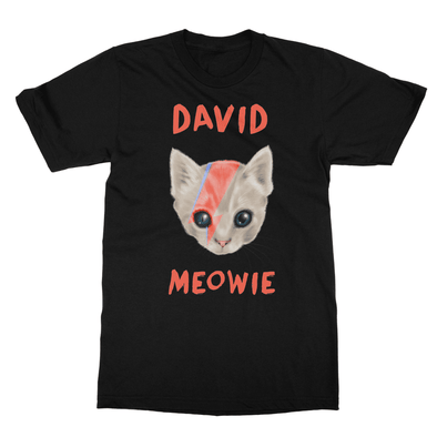 David Meowie - T-Shirt David Meowie - T-Shirt T-Shirts S / Black
