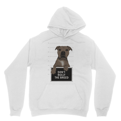 Don't Bully The Breed - Sweatshirt Don't Bully The Breed - Sweatshirt Hooded Sweatshirt S / Ash
