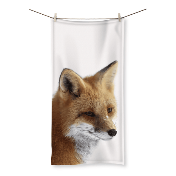 "Free Fox - Beach Towel Free Fox - Beach Towel Towel 19.7""x39.4"""