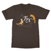 Fur Fox Sake Stop Hunting - T-Shirt Fur Fox Sake Stop Hunting - T-Shirt T-Shirts S / Dark Chocolate