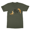 Fur Fox Sake Stop Hunting - T-Shirt Fur Fox Sake Stop Hunting - T-Shirt T-Shirts S / Military Green