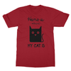 Home Is Where My Cat Is - T-Shirt Home Is Where My Cat Is - T-Shirt T-Shirts S / Cardinal Red