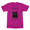 Home Is Where My Cat Is - T-Shirt Home Is Where My Cat Is - T-Shirt T-Shirts S / Heliconia