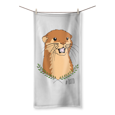Otter Of The Day - Beach Towel