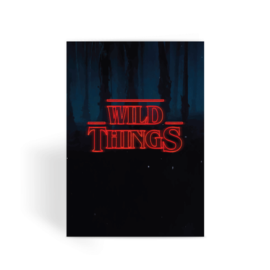 Wild Things - Greeting Card