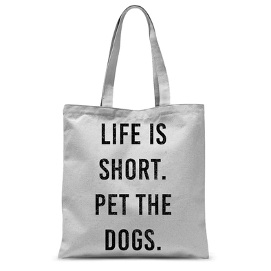 Pet The Dogs - Tote Bag