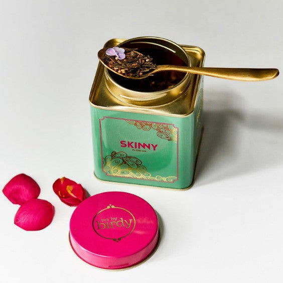 tea by birdy skinny tea tin