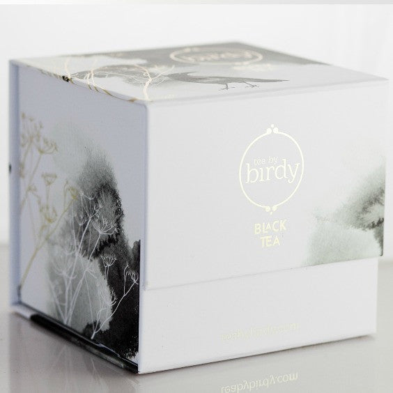 french earl grey loose leaf tea caddy