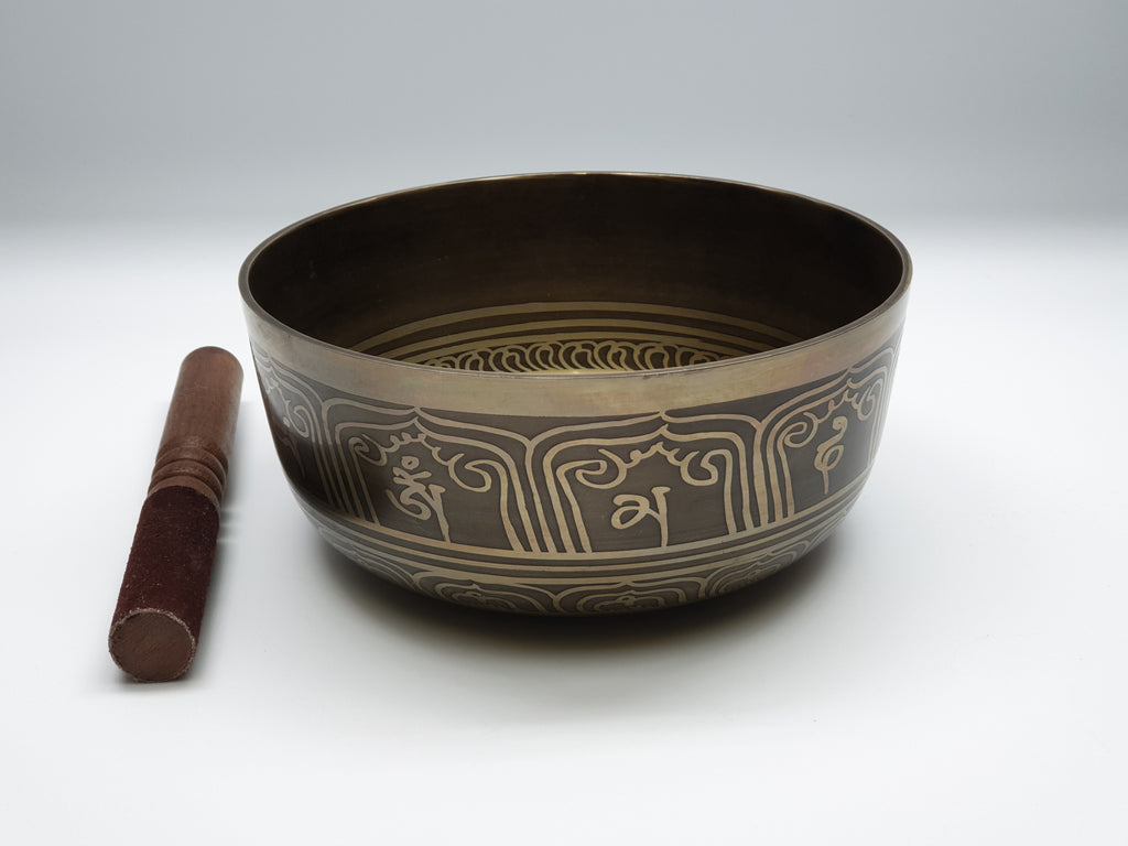 Mantra singing bowl