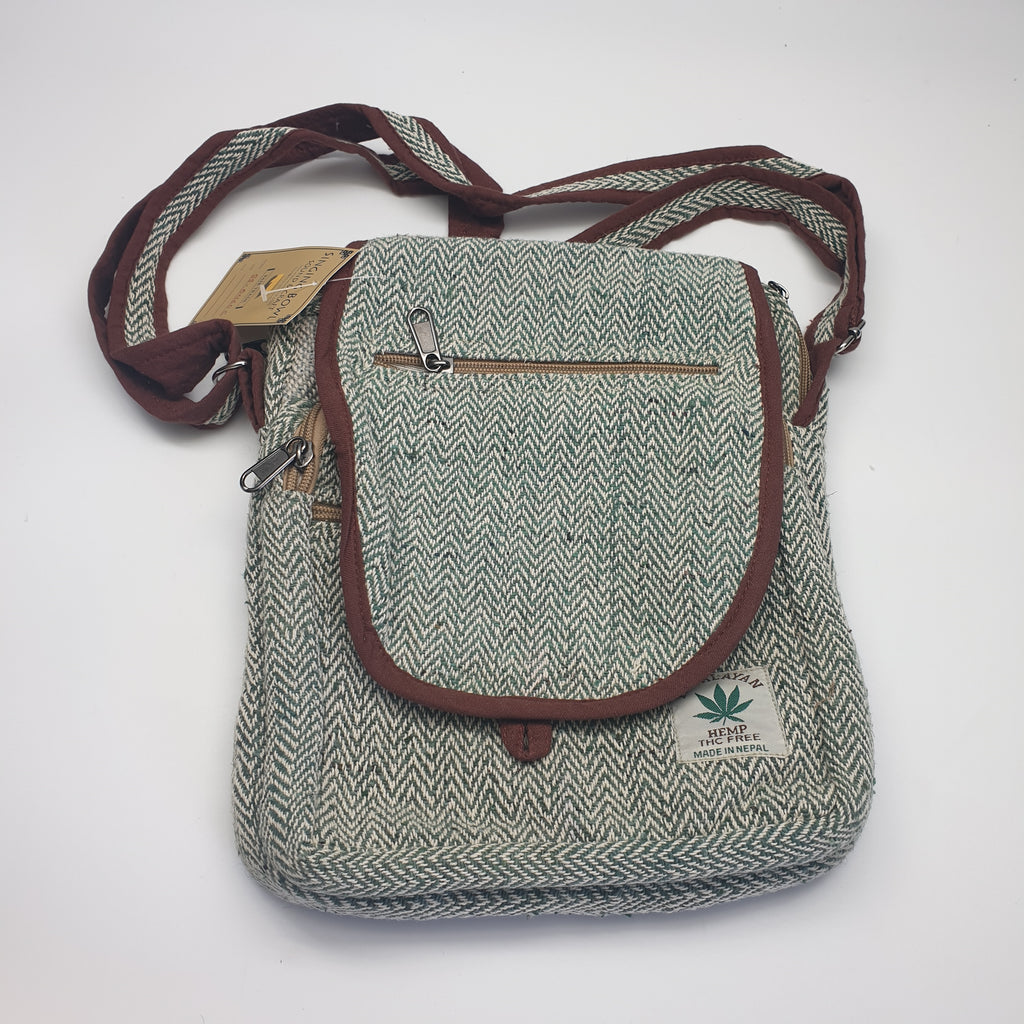 Hemp side bag