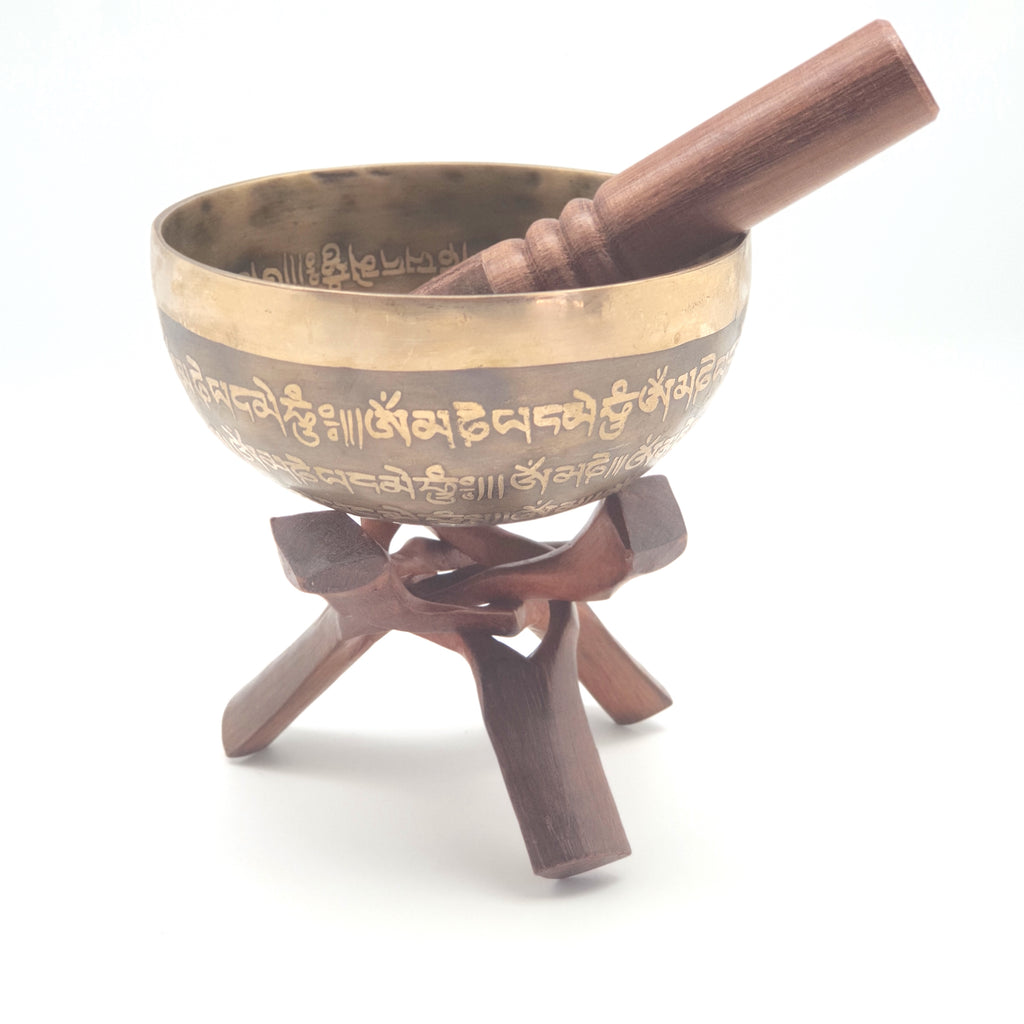 Handmade Nepali singing bowl