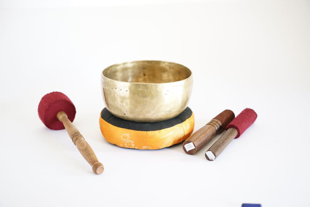 Healing sound tibetan thado singing bowl TBR-02