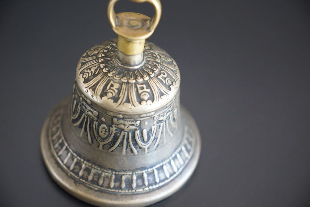 Antique nine top Monk Bell