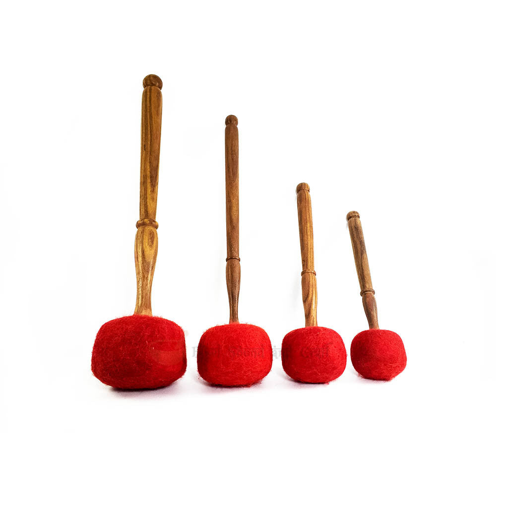 Wooden Felt Top Drum Stick SGB-100