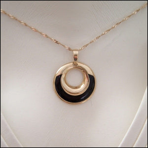 """Black Band"" Registered Nurse Pendant/Pin"