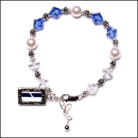 """Blue Ribbon"" Licensed Practical Nurse Bracelet"