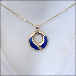 """Blue Ribbon"" Licensed Practical Nurse Pendant/Pin"