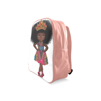 Shakura Pose School Backpack/Large (Model 1601) - UrbanToons Inc.