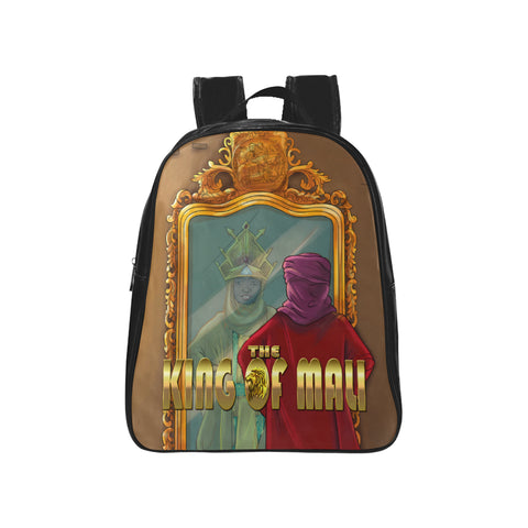 KING OF MALI School Backpack - UrbanToons Inc.