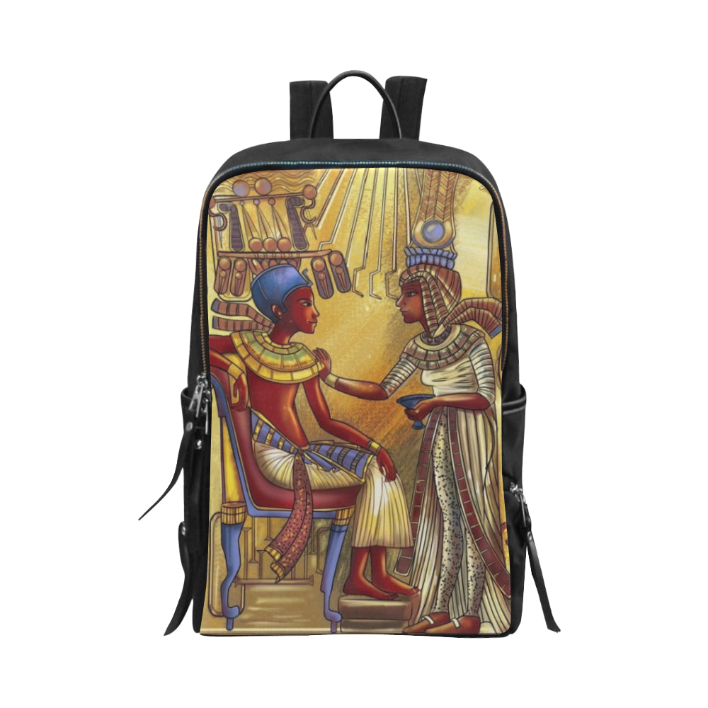 King Book Bag Slim Book Bag Unisex Slim Backpack (Model 1664) - UrbanToons Inc.