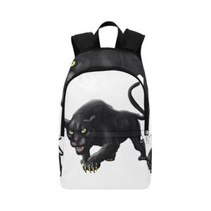 Urbantoons Black Panthers Fabric Backpack / Book bag - UrbanToons Inc.