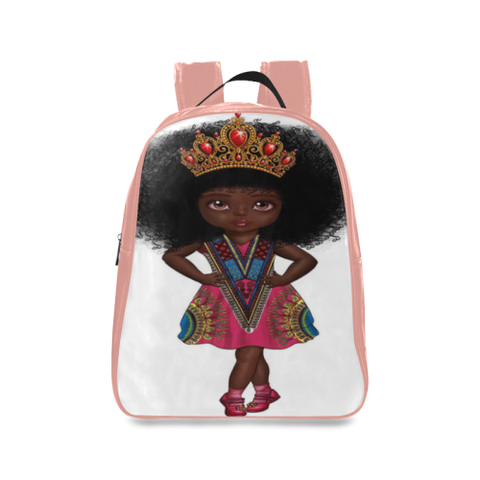 Shakura Pose School Backpack/Large (Model 1601)
