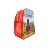 Little Red Riding Hood  School Backpack/Large (Model 1601)