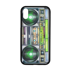 "Urbantoons Magic boom box iPhone X iPhone XR (6.1"") Case - UrbanToons Inc."