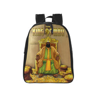 King Of Mali Mansa Musa School Backpack Kids (Medium) - UrbanToons Inc.
