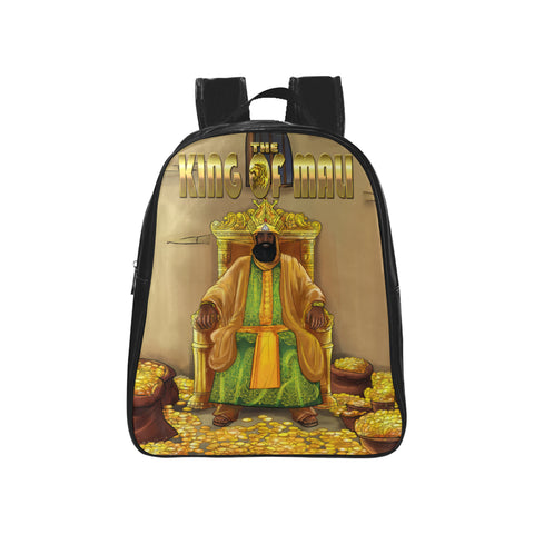 King Of Mali Mansa Musa School Backpack Kids (Medium)