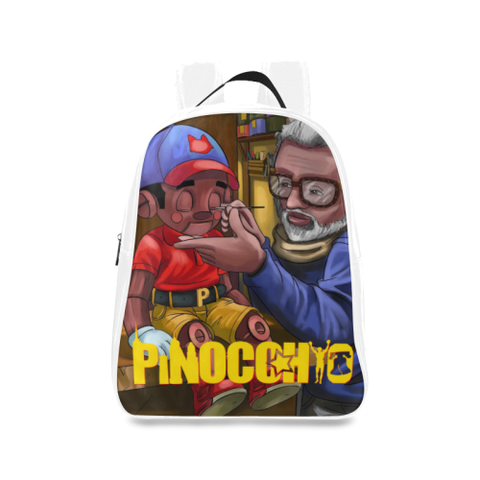 Pinocchio Puppet School Backpack/Large (Model 1601)