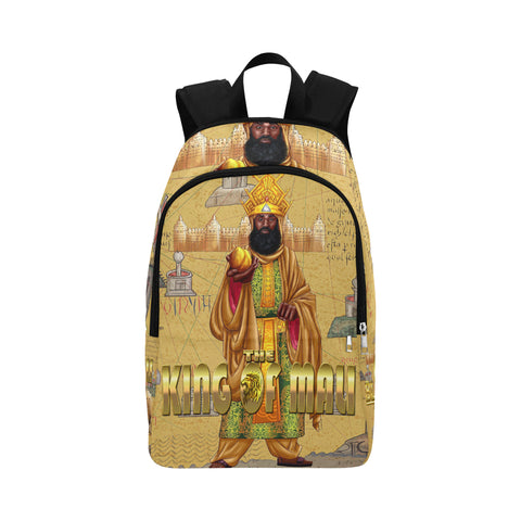 KING OF MALI Fabric Backpack for Adult - UrbanToons Inc.