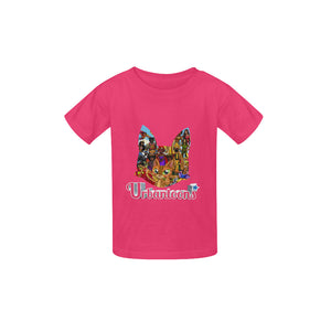 Urbantoons Swahili Logo Kid's  Classic T-shirt (Model T22) - UrbanToons Inc.