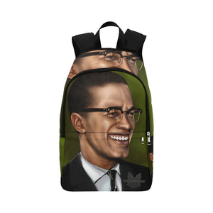 Urbantoons Malcolm X Book bag (Adult) - UrbanToons Inc.