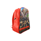 PANTHER PRIDE Red School Backpack/Large