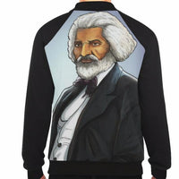 Urbantoon Fredrick Douglass Baseball Jacket - UrbanToons Inc.
