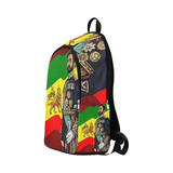 Haile Selassie I Book Bag Fabric Backpack for Adult (Model 1659) - UrbanToons Inc.